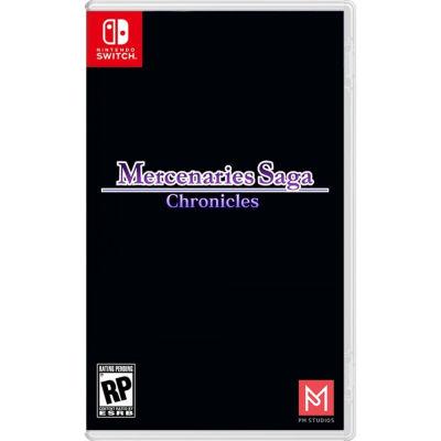 Nintendo Switch Mercenaries Saga: Chronicles Video Game
