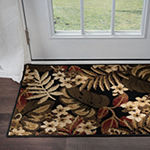 Tayse Carribe Transitional Floral Area Rug