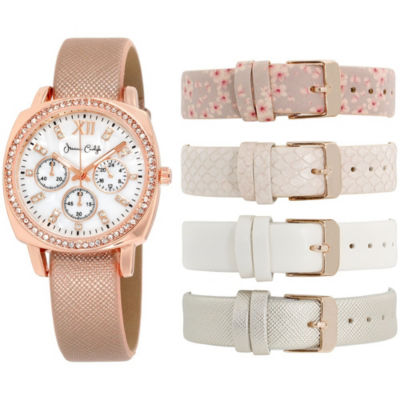 Womens Multicolor Band Watch-In6045rg840-078