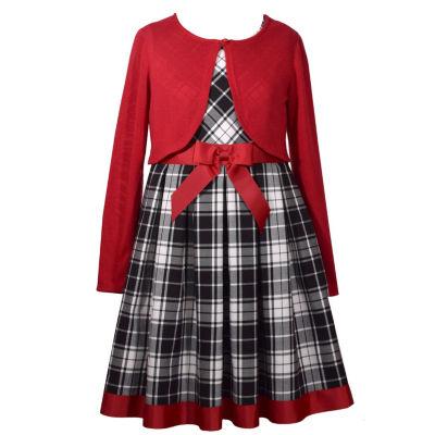 Bonnie Jean 2-pc. Jacket Dress Girls