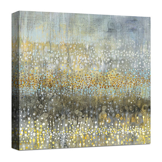 Rain Abstract IV Canvas Art