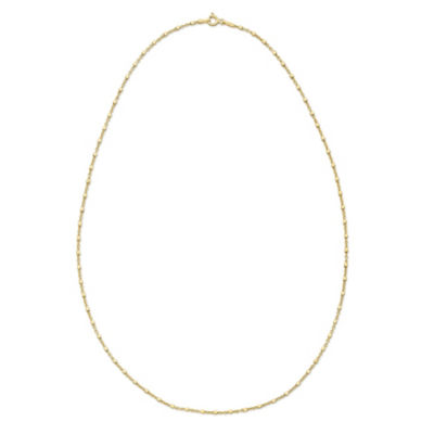 Made in Italy 20 Inch Solid Rope Chain Necklace