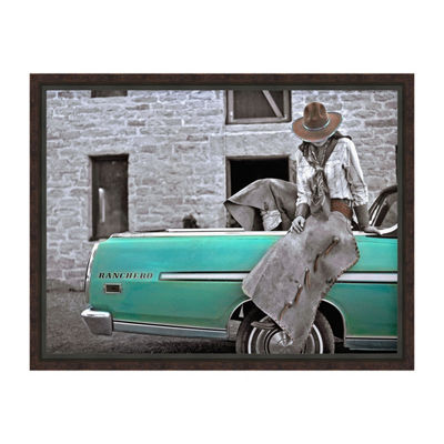 Ranchero Framed Canvas Art