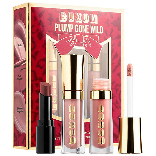 Buxom Plump Gone Wild 3-Piece Mini Lip Collection