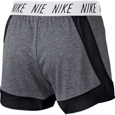 "Nike 4"" Knit Workout Shorts-Juniors"