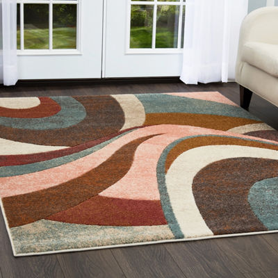 Home Dynamix Tribeca Slade Abstract Rectangular Rug
