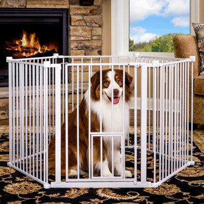 Carlson Convertible Super Wide 2-in-1 Pet Pen and Gate
