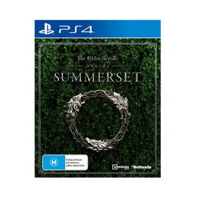 Playstation 4 The Elder Scrolls Online: Summerset Video Game