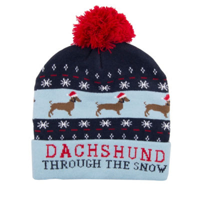 Wembley™ Holiday Dachshund Beanie
