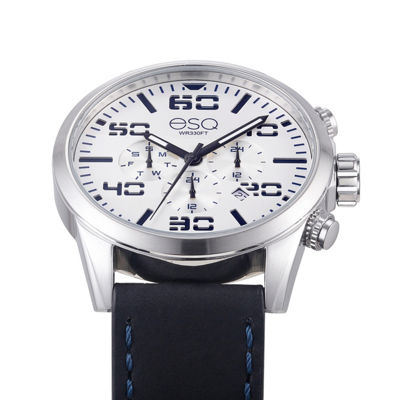 Esq Mens Black Strap Watch-37esq002001a