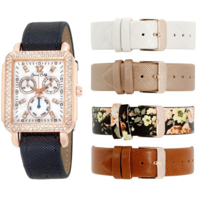 Womens Multicolor Band Watch-In6042rg840-078