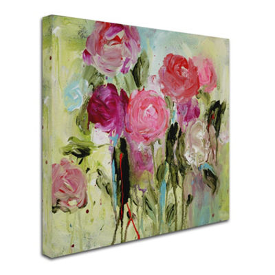 Trademark Fine Art Carrie Schmitt Entre Nous Giclee Canvas Art