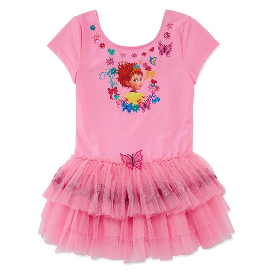 Disney Fancy Nancy Short Sleeve Leotard - Girls