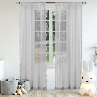 Lala + Bash Dollie 2-Pack Rod-Pocket Curtain Panels