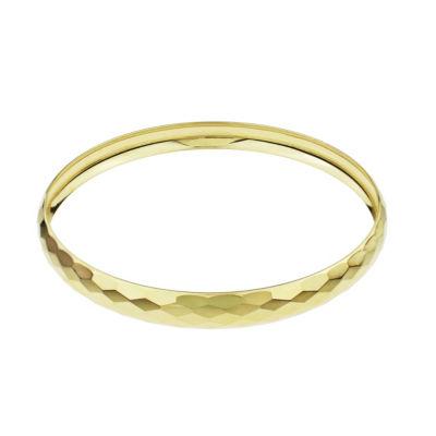 Sechic Womens 14K Gold Bangle Bracelet