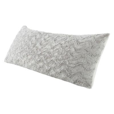 Luxury Faux Fur Reverse to Faux Sherpa Body Pillow