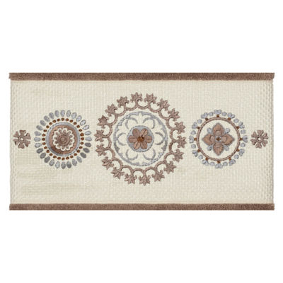 Linum Home Textiles 100% Turkish Cotton Isabelle 3PC Embellished Towel Set