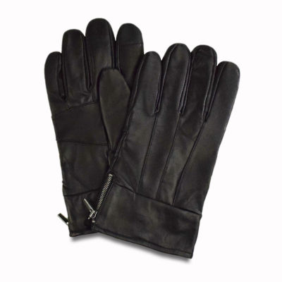 Collection by Michael Strahan  Mens Leather Cold Weather Gloves