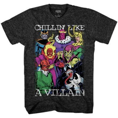 Marvel Villow Graphic Tee