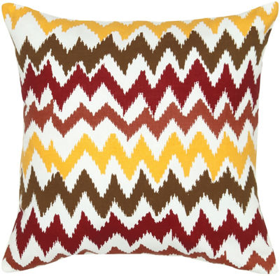 Rizzy Home Falcon Chevron Decorative Pillow
