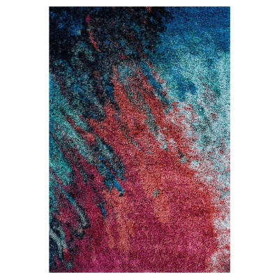 Couristan Gaia Sunset Rectangular Indoor Accent Rug