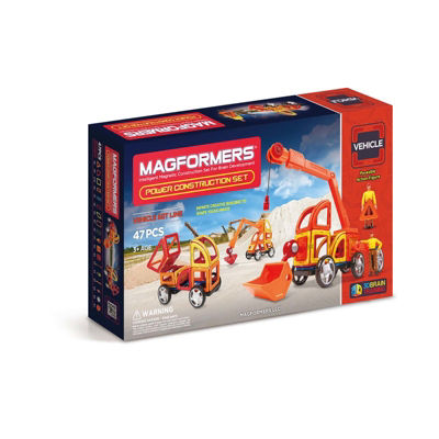 Magformers Power Construction 47 PC. Set