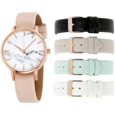Womens Multicolor Band Watch-In6040rg840-078