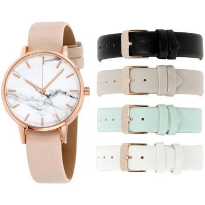 Womens Multicolor Bracelet Watch-In6040rg840-078
