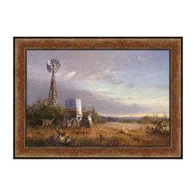 World Class Framed Canvas Art