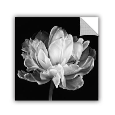 Tulipa Double Black and White II Removable Wall Decal