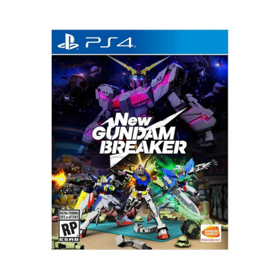 Playstation 4 New Gundam Breaker Video Game