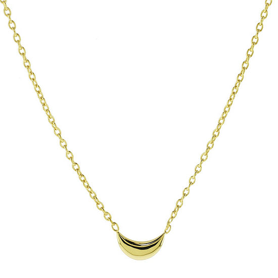 Sechic Womens 14K Gold Pendant Necklace