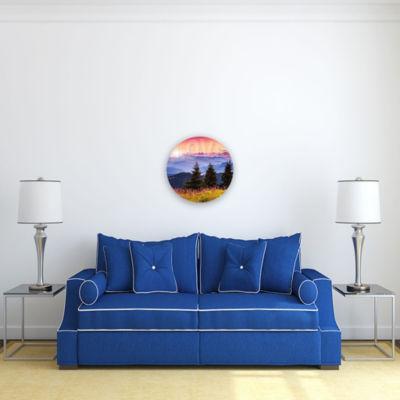 Motivational Wall Art Love 16-inch Round