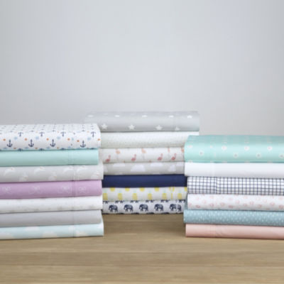 Pointehaven 200TC Percal Woven Cotton Sheet Set