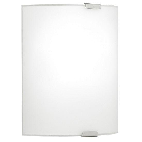Eglo Grafik 1-Light Chrome Wall Light