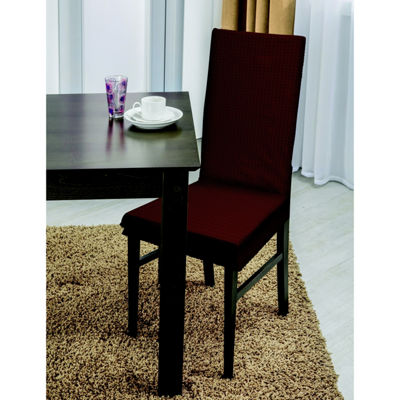 Home Details Zig Zag Design Dining Chair Slipcover