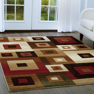 Home Dynamix Tribeca Harper Abstract Rectangular Rug