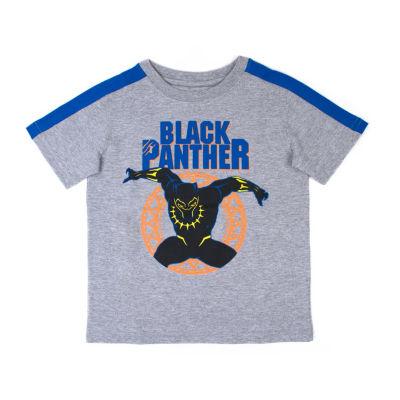 Black Pantheer T-Shirt-Toddler Boys
