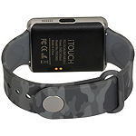 Itouch Camo Unisex Adult Digital Gray Smart Watch-Ita33605y714-Cag