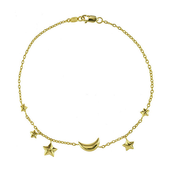 Sechic 14K Gold Charm Bracelet
