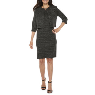 Danny & Nicole Sleeveless Jacket Dress-Petite