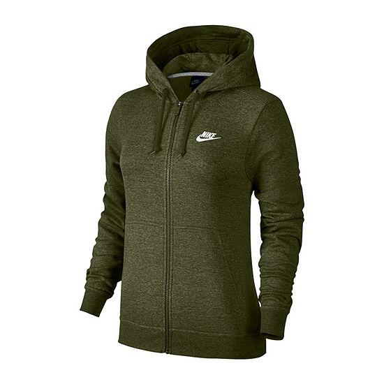 Women s Nike Midweight Fleece Jacket - JCPenney 9a7e21f4eb83