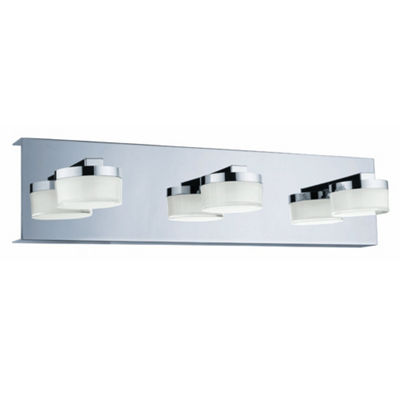 "Eglo Romendo LED 18"" Chrome Vanity Wall Light"