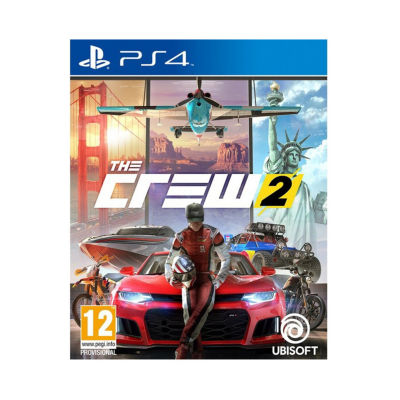 Playstation 4 The Crew 2: Day One Edition Video Game