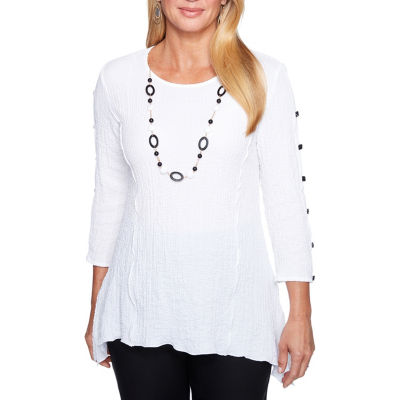Alfred Dunner Barcelona Tunic Top