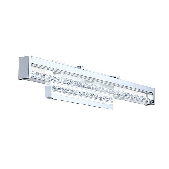 Eglo Cardito LED Chrome Vanity Wall Light