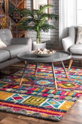 nuLoom Nettles Retro Tribal Area Rug