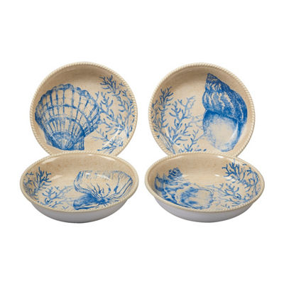 Certified International Seaside 4-pc. Soup Bowl