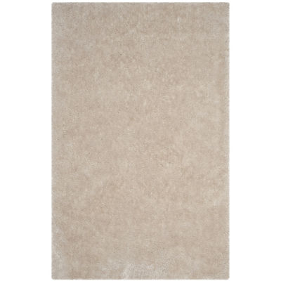 Safavieh Luxe Shag Collection Marjory Solid Area Rug