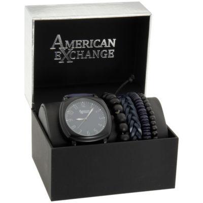 Womens Blue Bracelet Watch-Mst5485bk100-007